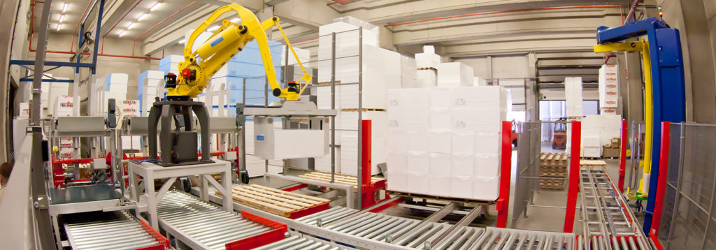 Development of robots and machines for the plastics industry